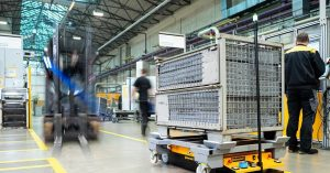 Continental develops autonomous AGV for parts handling | News | Automotive Logistics